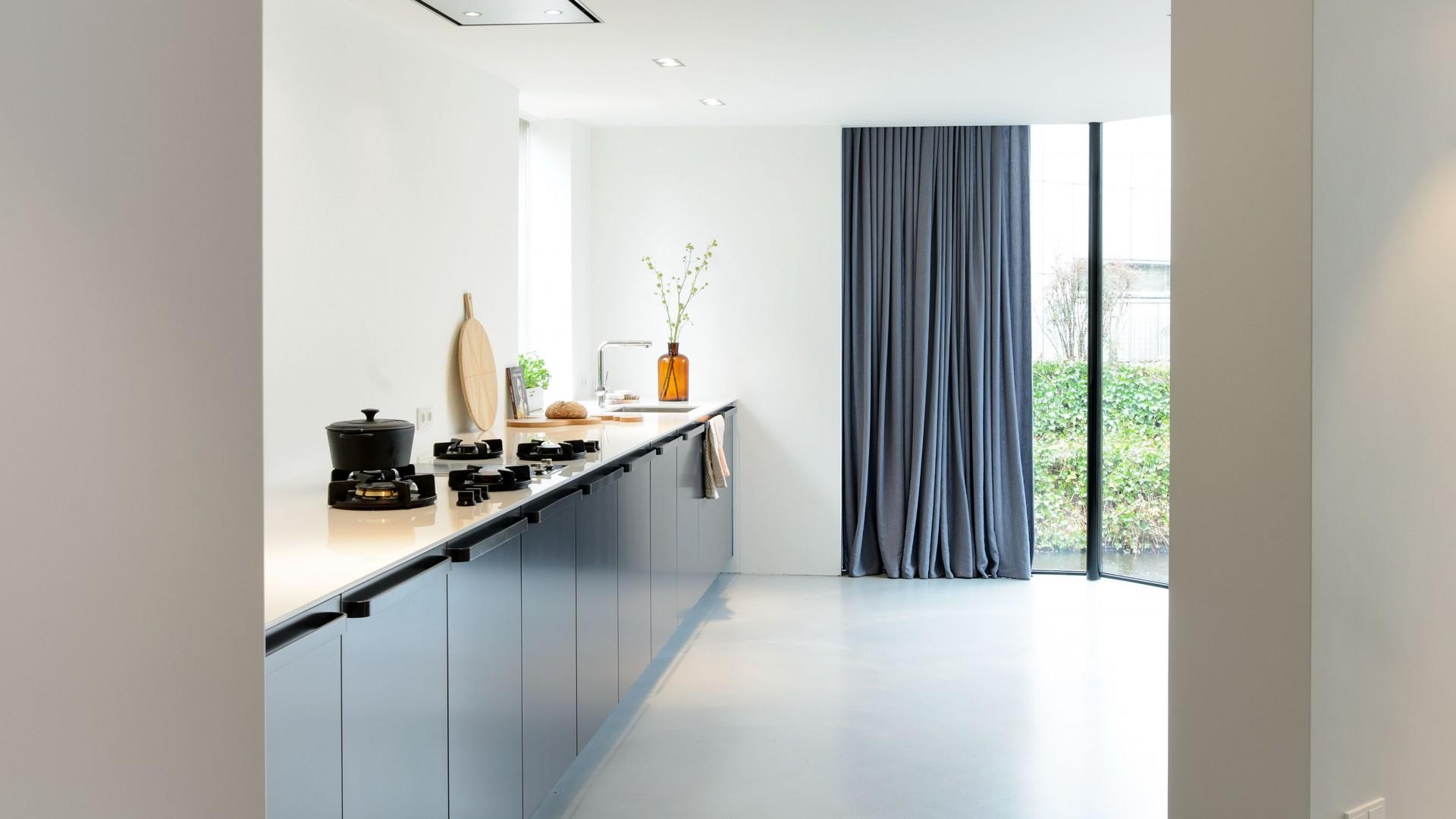 uitbouw met keuken Enschede